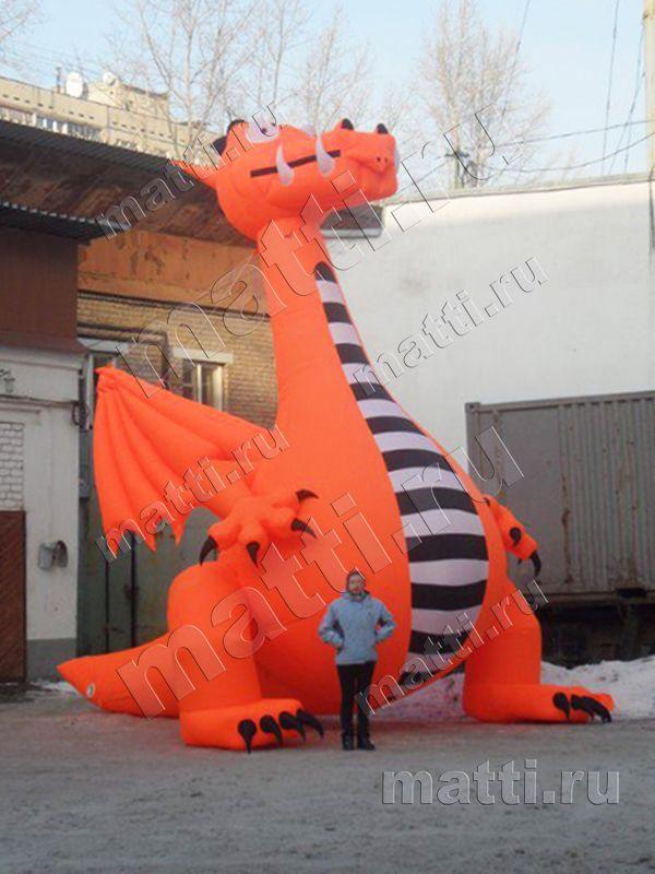 Надувная фигура - Дракон 6м.jpg
