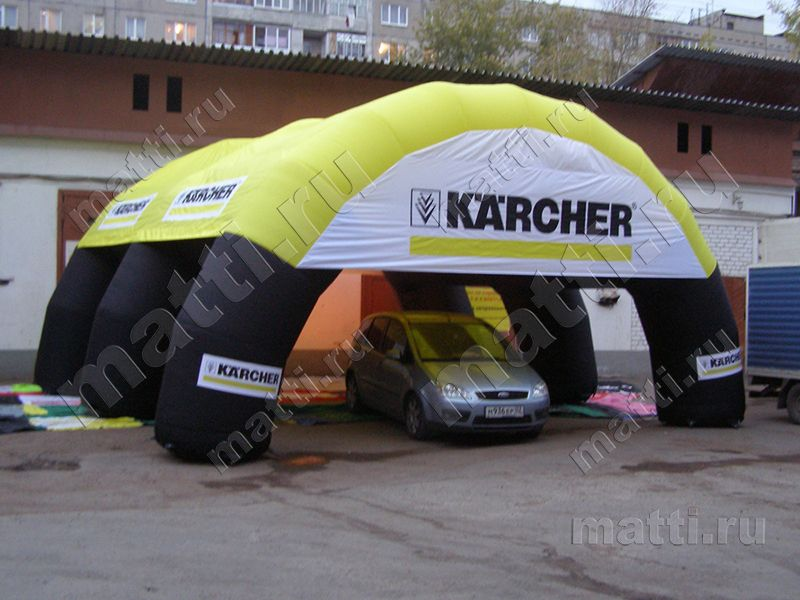 Надувной навес, палатка - Керхер.jpg